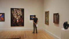 Daniel Viewing Paintings