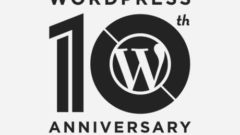 WordPress 10th Anniversary