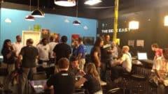 WordPress Anniversary Party at Geek Easy