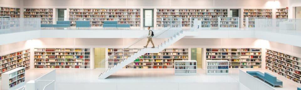 Library in Stadtbibliothek Stuttgart