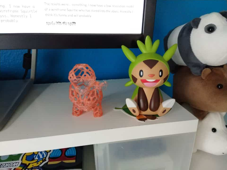 Squirtle on my desk
