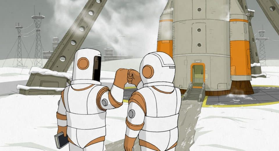 Oscar Nominated Short 'We Can't Live Without Cosmos' by Konstantin Bronzit