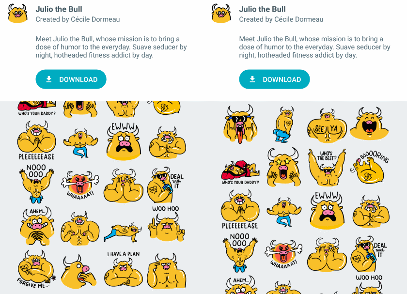 nexus2cee_google-allo-sticker-packs-julio-bull-1