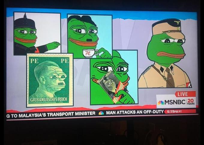 Pepe is the Alt-Right Poster Child. Image courtesy CommanderCorson