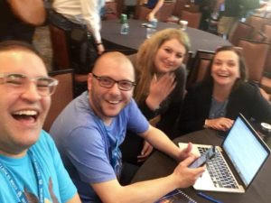 SiteGround team at WordCamp Atlanta 2019