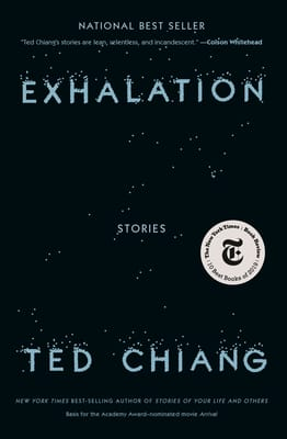 Book cover of Exhalation by Ted Chiang