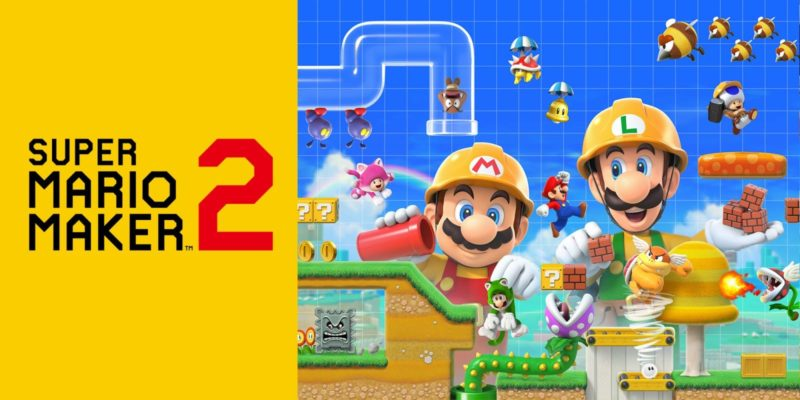 Super Mario Maker 2 game screenshot